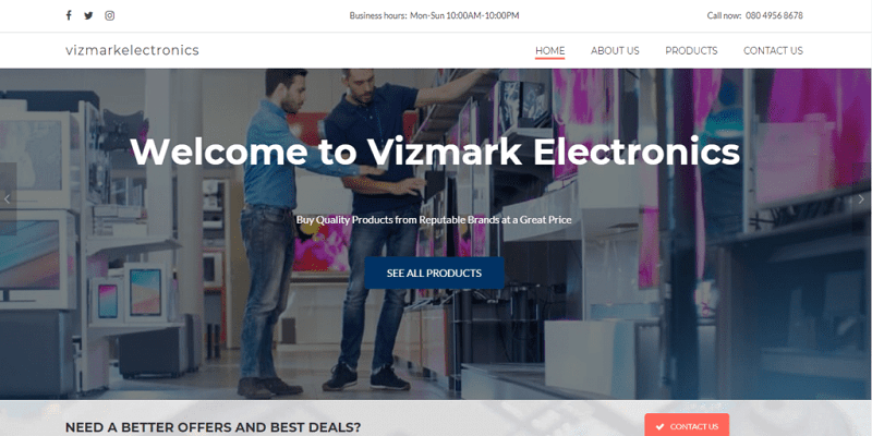 Vizmark-electronics